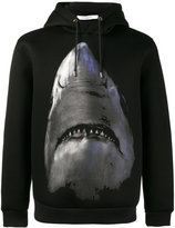 Givenchy shark print hoodie - men - Viscose - S