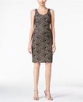 Kasper Lace Sheath Dress
