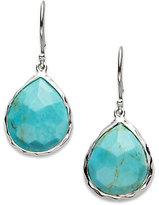 Ippolita Rock Candy Turquoise & Sterling Silver Mini Teardrop Earrings