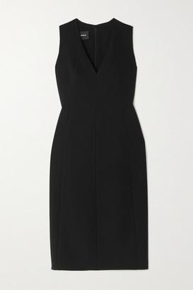 Akris Wool-blend Crepe Dress - Black