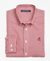 Brooks Brothers Non-Iron Gingham Sport Shirt
