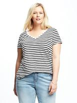 Old Navy Relaxed Plus-Size EveryWear V-Neck Tee