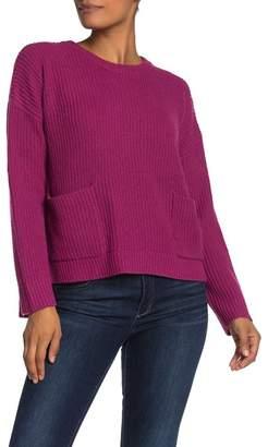 MelloDay Two Pocket Knit Sweater