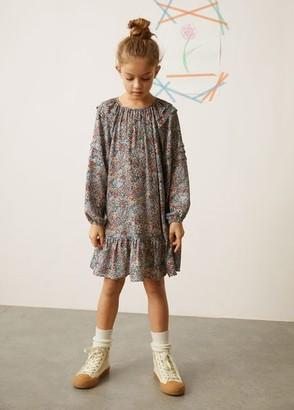 MANGO Star laces sneakers ecru - 2 - Kids