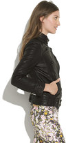 Madewell Belted Leather Bomber