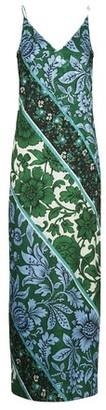 Erdem Esperanza printed wallpaper Kati Star long dress