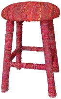 nuLoom Boho Sari Silk Barstool