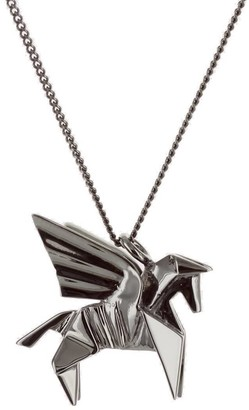 Origami Jewellery Mini Pegasus Gun Metal