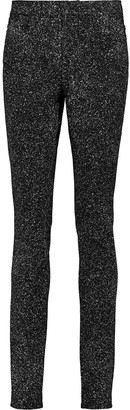 Proenza Schouler Printed Twill Mid-rise Skinny Jeans
