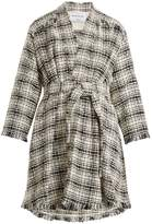 Sonia Rykiel Cotton-blend tweed coat