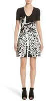 Yigal Azrouel Women's Jacquard Fit & Flare Dress