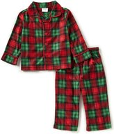 Baby Starters Baby Boys 12-24 Months Christmas Plaid Button-Front Shirt & Pants Pajama Set