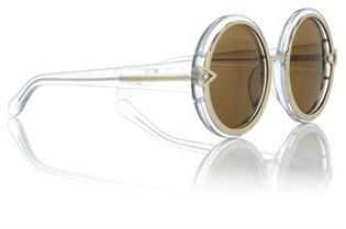 Karen Walker Clear Orbit Round Sunglasses