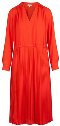 Kenzo Pleated midi-dress