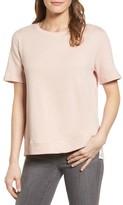 Gibson Women's Mixed Media Sweatshirt