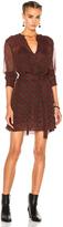 Etoile Isabel Marant Bertha Printed Chiffon Silk Dress
