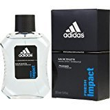 adidas FRESH IMPACT by EDT SPRAY 3.4 OZ (DEVELOPED WITH ATHLETES) (Package Of 2)