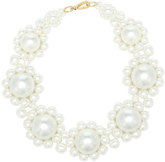 Simone Rocha Faux pearl necklace