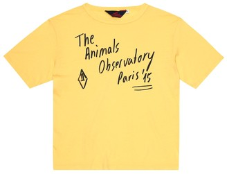 The Animals Observatory Rooster cotton-jersey T-shirt