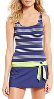 Jag Harbour Stripe Swim Dress