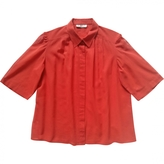 Chloé Red Cotton Top