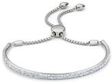 Monica Vinader Fiji Pave Bar Petite Bracelet - Diamond