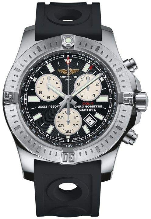 Breitling Staineless Steel Colt Chronograph Watch 44mm