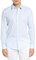 BOSS Men's Robbie Trim Fit Check Sport Shirt