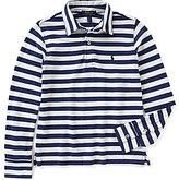 Ralph Lauren Big Boys 8-20 Striped Long-Sleeve Polo Shirt