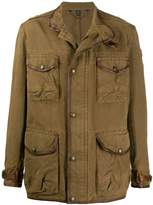 khujo Herren Melek Military Puffer Jacke