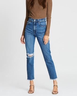 Nobody Denim Frankie Slim Ankle Stretch Jeans