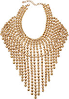 Lydell NYC Oversized Statement Bib Necklace, Gold