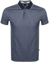 HUGO BOSS Piket 07 Polo T Shirt Navy