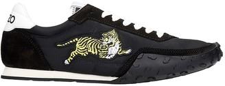 Kenzo Sneakers In Black Polyamide