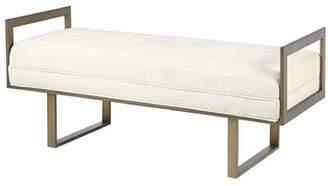 Martha Stewart Daphne Upholstered Bench
