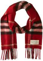 Burberry Exploded Check Cash Scarf Scarves
