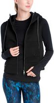 LOLA Cosmetics Black Sloane Hooded Vest