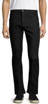 Prada Solid Cotton Slim Jeans