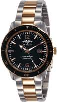 Rotary Watches Ocean Avenger Men's Dial Stainless Steel Bracelet Quartz Watch GB90096/04