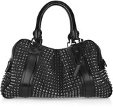 Studded leather Knight bag
