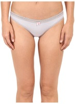 Betsey Johnson Cotton Spandex Thong J2075