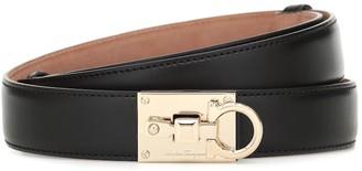 Salvatore Ferragamo Studio leather belt