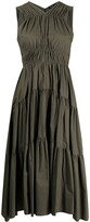 Thumbnail for your product : Proenza Schouler Tiered Halterneck Dress