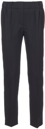 Brunello Cucinelli Elasticated Cropped Pants