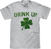 Novelty Promotional St Patty's Drink Up Short Sleeve Tee