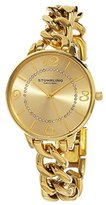 Stuhrling Original Women's 588.04 Vogue Analog Display Quartz Gold Watch
