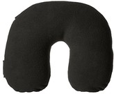 Victorinox Deluxe Fleece Travel Pillow (Black/Black Logo) Sheets Bedding
