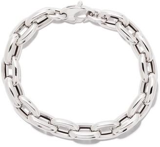 """As 29 18kt White Gold 7.5"""" Bold Links Chain Bracelet"""