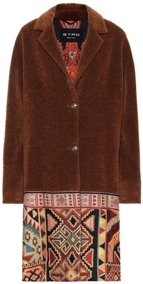 Etro Wool and alpaca-blend coat