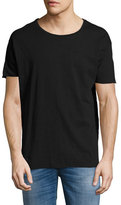 Nudie Jeans Roger Loose-Fit Organic Cotton Slub T-Shirt, Black